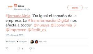 Industria 4.0: Jornada de Economía 3 y AINIA