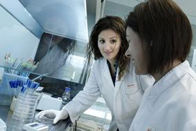 Analistas_trabajando_laboratorio_Bioensayos_AINIA_g