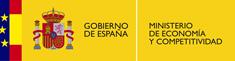 Logotipo del Ministerio de Economía y Competitividad del Gobierno de España
