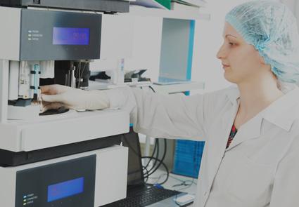 laboratorio cromatografía