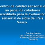 2015 jornada innovacion herramientas sensoriales panel cata control sensorial sidra