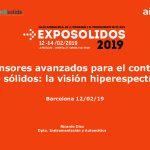 2019 Jornada Exposolidos Vision Hiperespectral