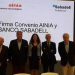 Firma Convenio con Sabadell