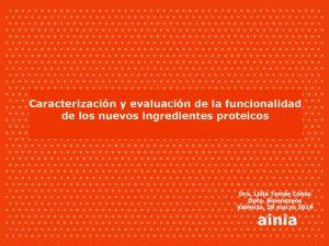 2019 jornada proteinas ainia caracterizacion