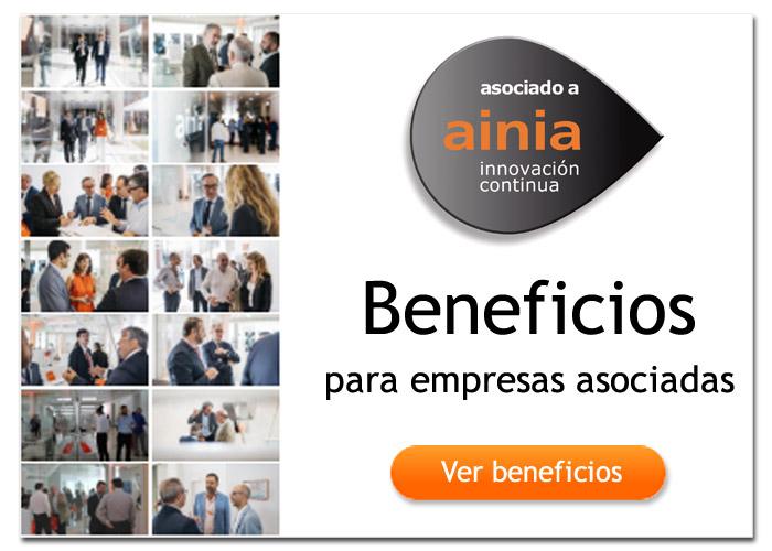 Beneficios empresas asociadas AINIA