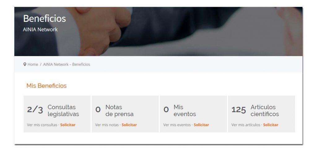 Benficios Asociado Network